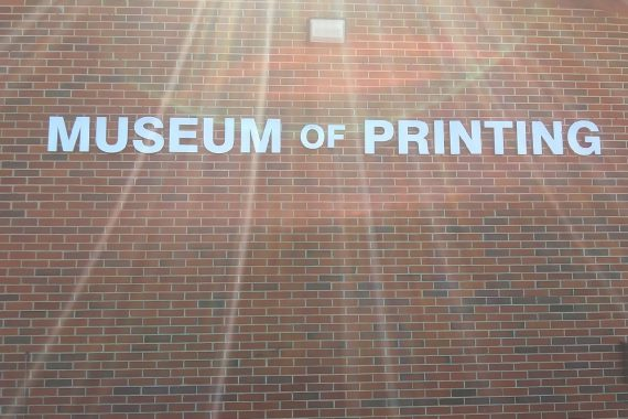 At the Museum of Printing
